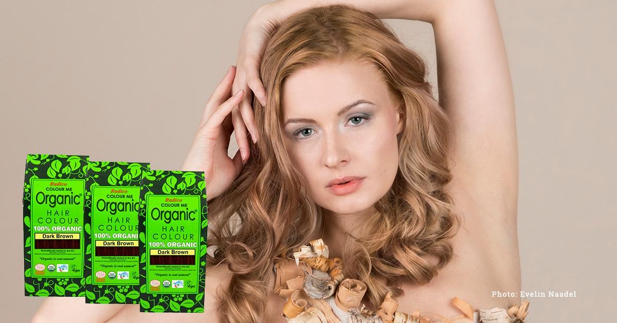 Radico Organic Orgaanilised taimsed juuksevärvid ja taimed