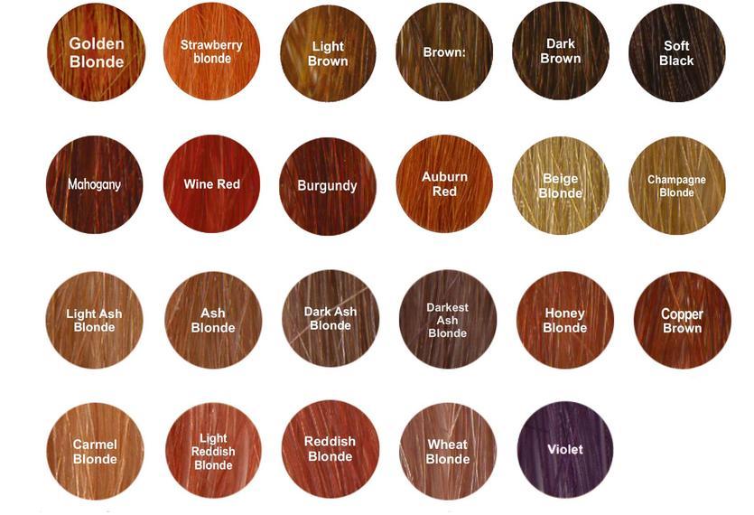 Radico Colour Me Organic luonnonmukaiset kasviväri sävyt